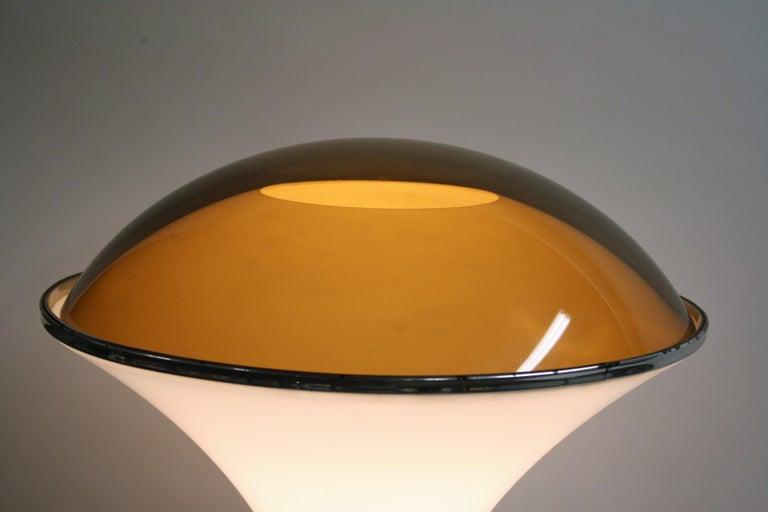 Art Deco Chrome Mushroom Floor Lamp, 1930s 12