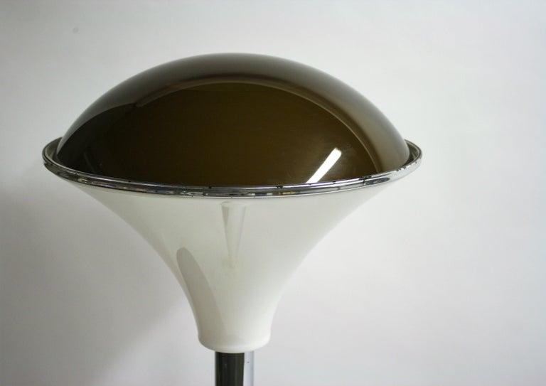 Art Deco Chrome Mushroom Floor Lamp, 1930s 7