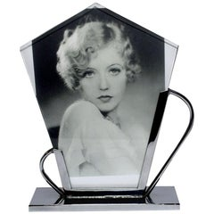 Art Deco Chrome Picture Frame