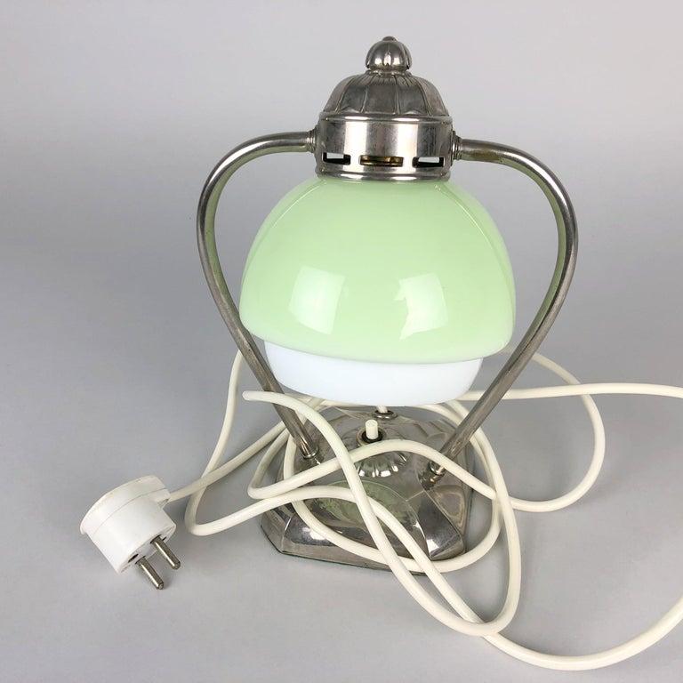 Art Deco Chrome Table Lamp or Lantern, 1930s For Sale 4