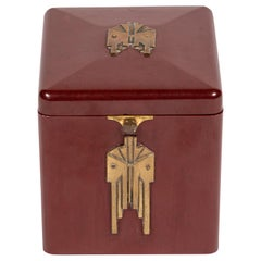 Art Deco Cigarette Box by Demley