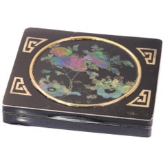 Art Deco Cigarette Case Linked to General MacArthur and Charles Lindbergh