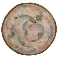 Art Deco Circle Rug