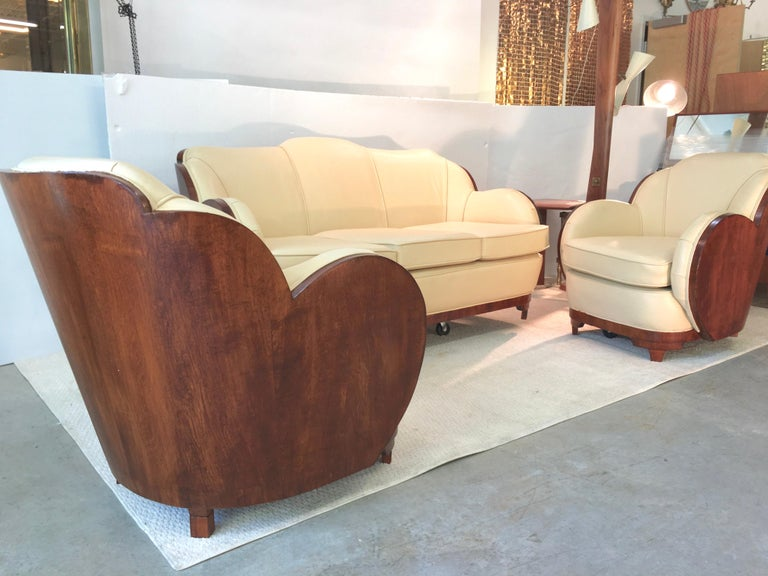 Art Deco Cloud Lounge Suite by H & L Epstein For Sale 5
