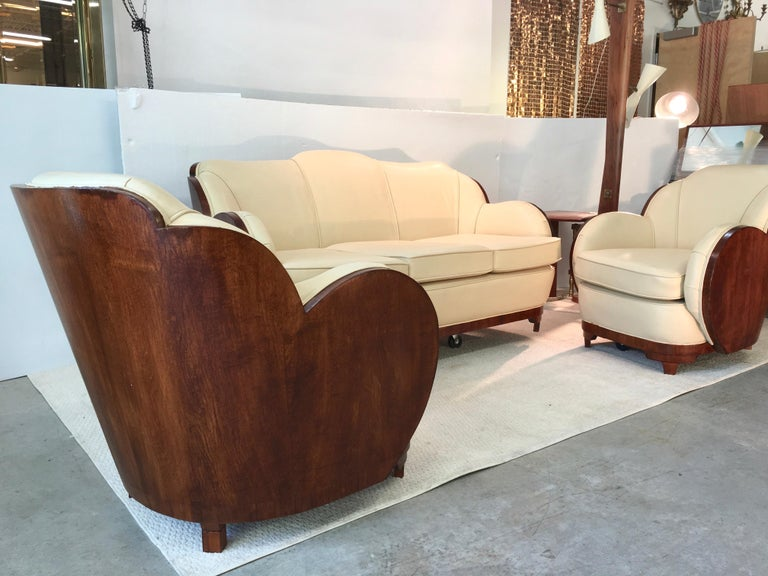 Art Deco Cloud Lounge Suite by H & L Epstein For Sale 6
