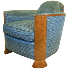 Art Deco Club Chair from Maison Guérin, 1930s