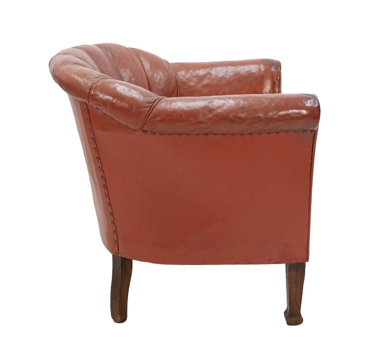 Art Deco Club Lounge Chair For Sale 4