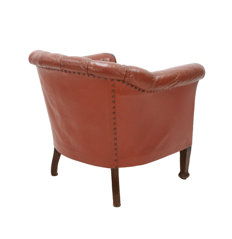 Art Deco Club Lounge Chair For Sale 5