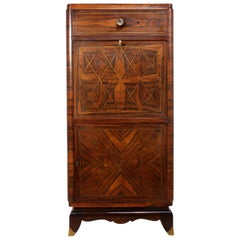 Art Deco Cocktail Cabinet in Rosewood, circa 1920
