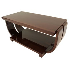 Art Deco Cocktail Table by Modern Age Furniture Company Attr. Brown Saltman
