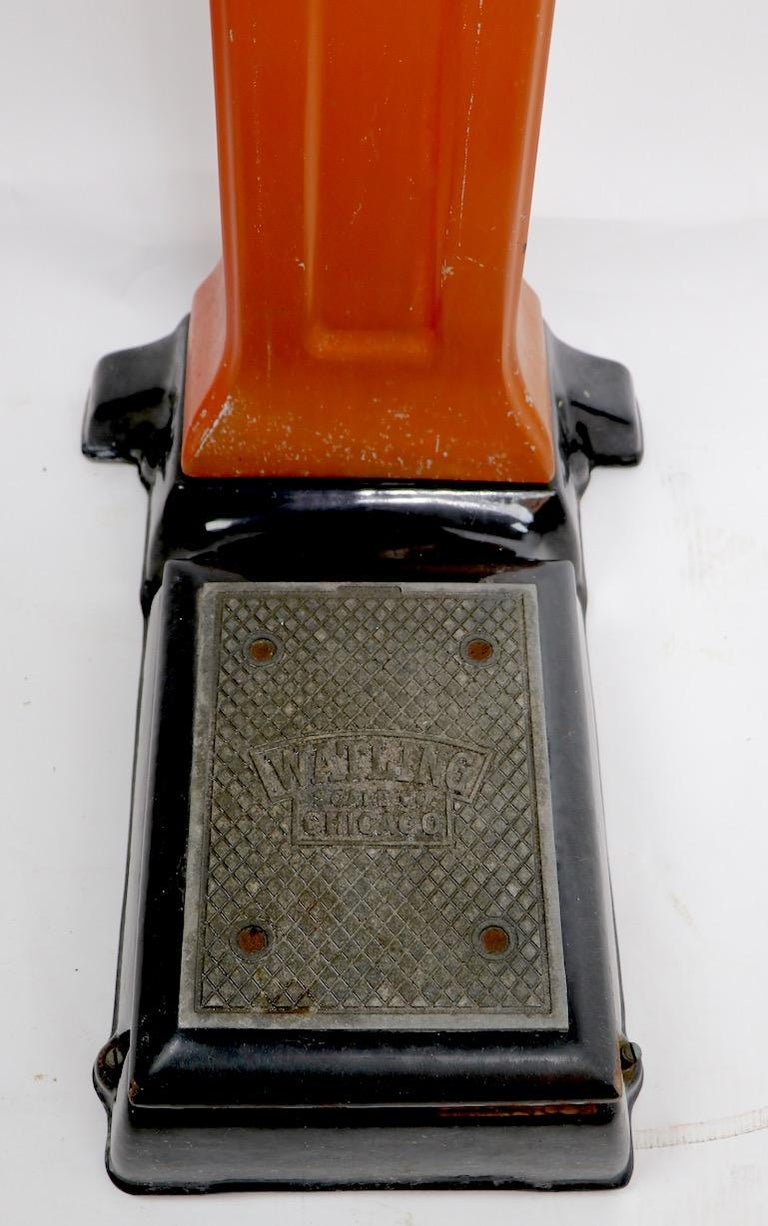 Art Deco Coin Operated Scale by Watling of Chicago For Sale 6