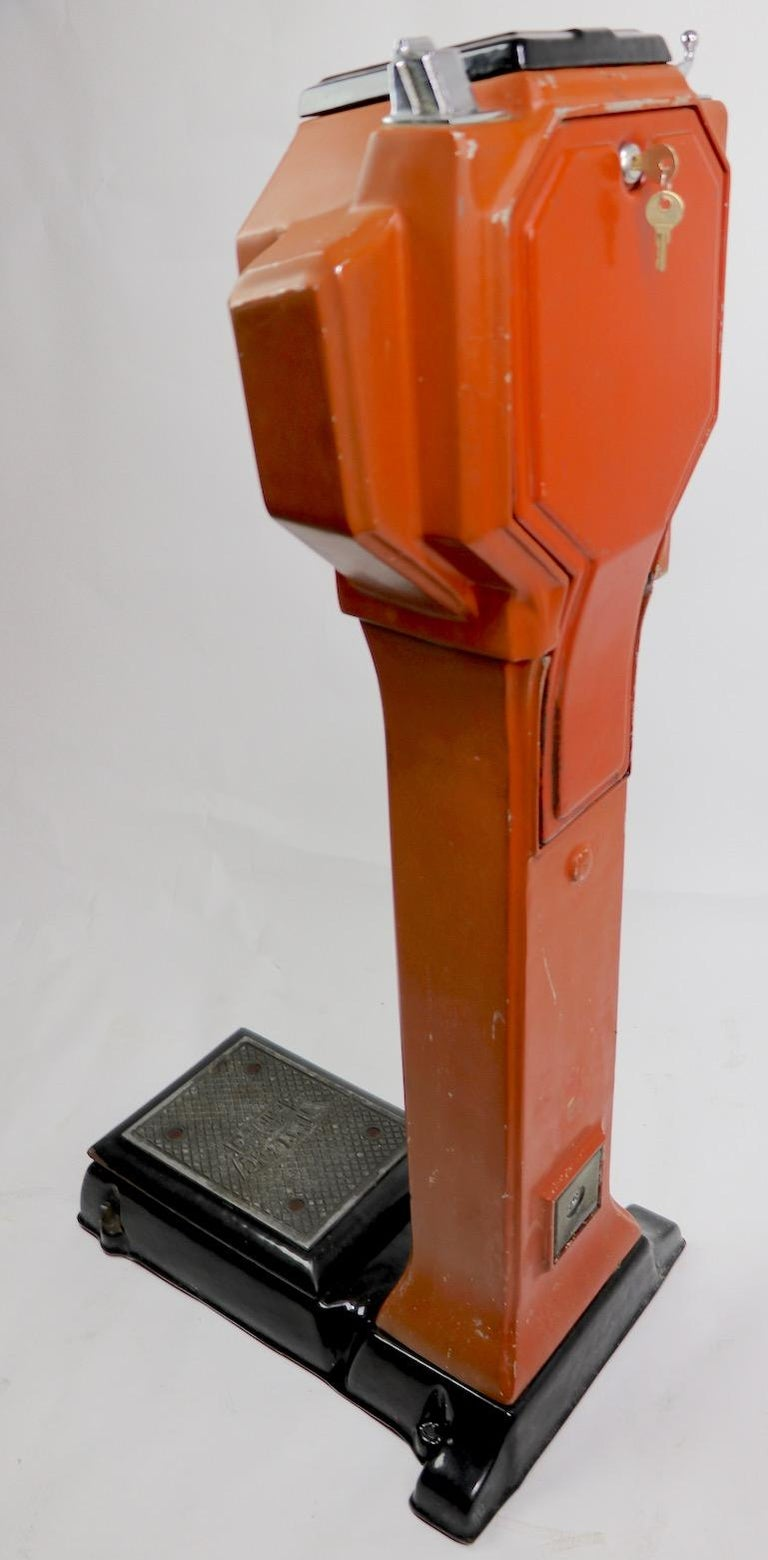 American Art Deco Coin Operated Scale by Watling of Chicago For Sale