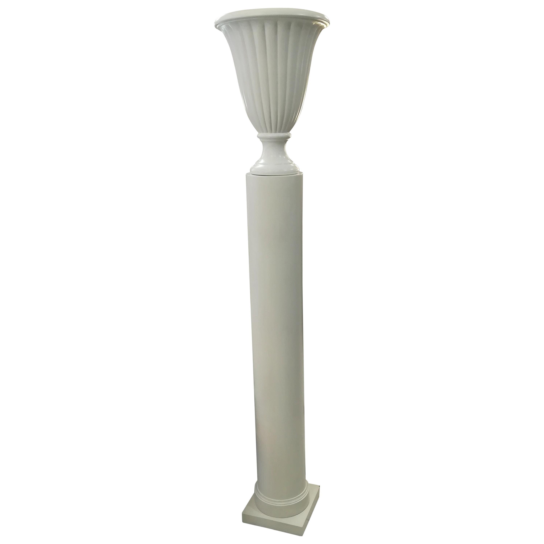 Art Deco Column Floor Lamp, circa 1940