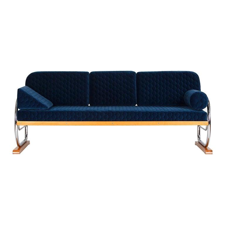 Art Deco Couch Daybed Von Hynek Gottwald, 1930s For Sale