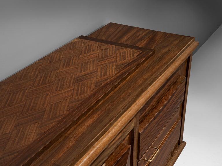 Art Deco Credenza in Mahogany For Sale 1