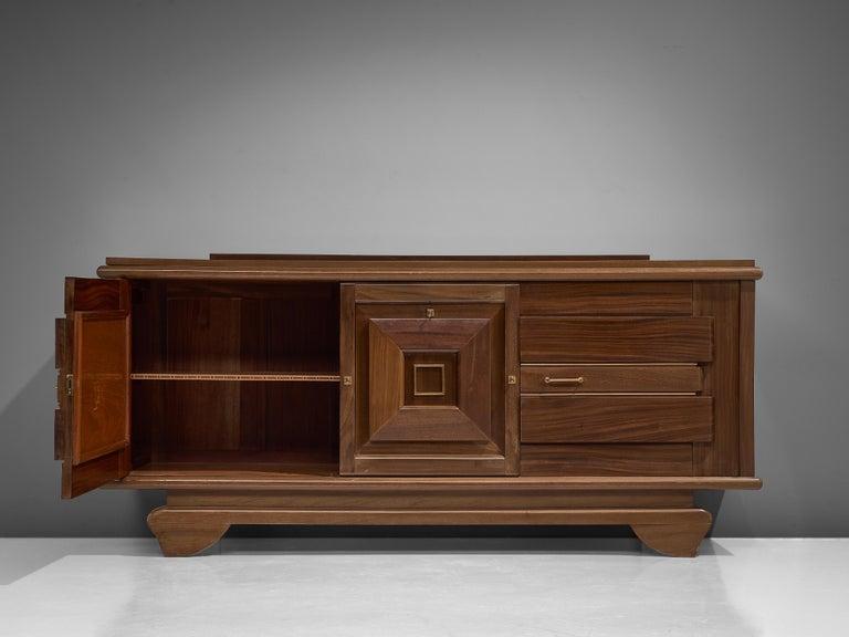 Art Deco Credenza in Mahogany For Sale 3
