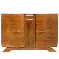 Art Deco Credenza Sideboard Buffet French, circa 1930 FREE SHIPPING options