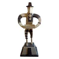 Art Deco Cubist Sculpture, circa 1930