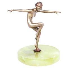 Art Deco Dancing Lady by Josef Lorenzl