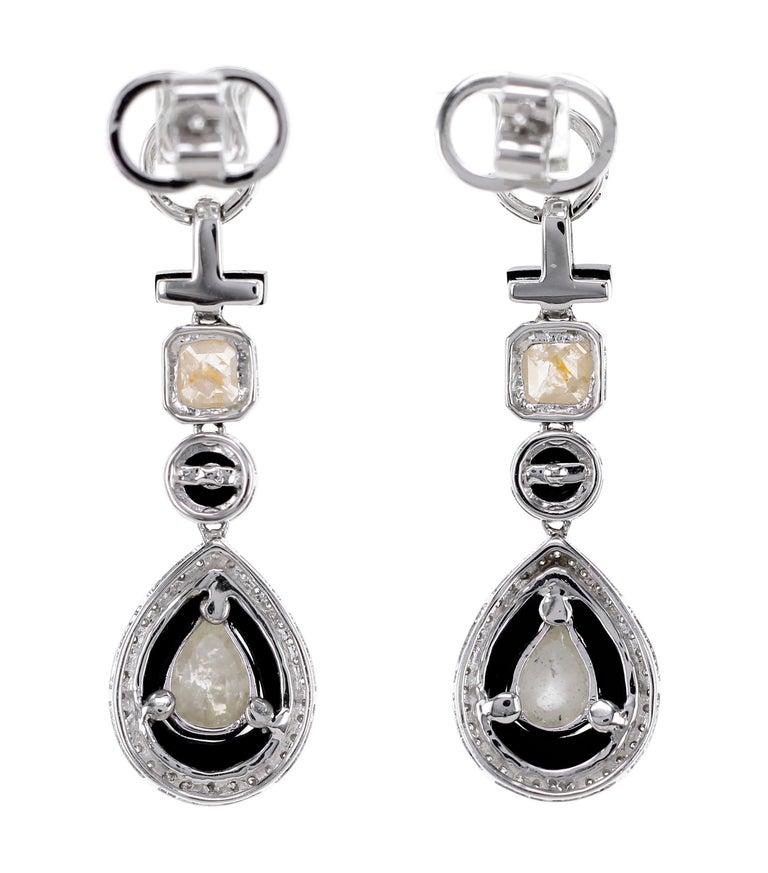 Women's Art Deco Style Dangle Earring For Sale