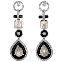 Art Deco Style Dangle Earring