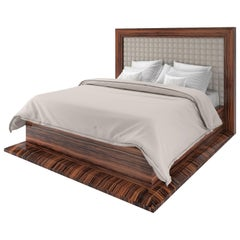 Art Deco Design Macassar Bed