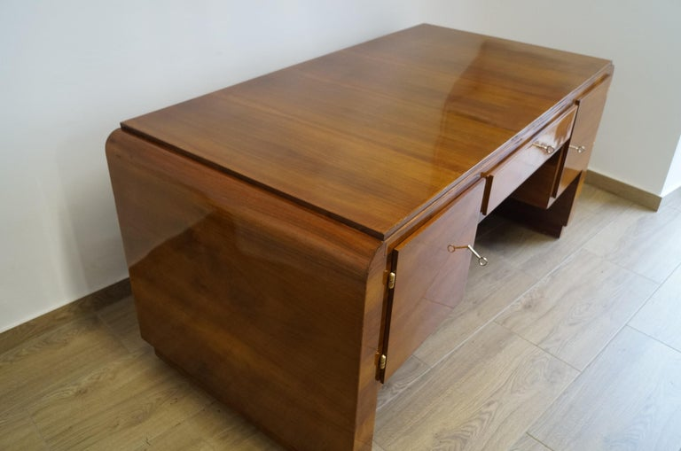 Art Deco Desk from 1940 For Sale 4