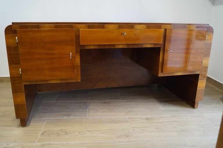 Art Deco Desk from 1940 For Sale 6