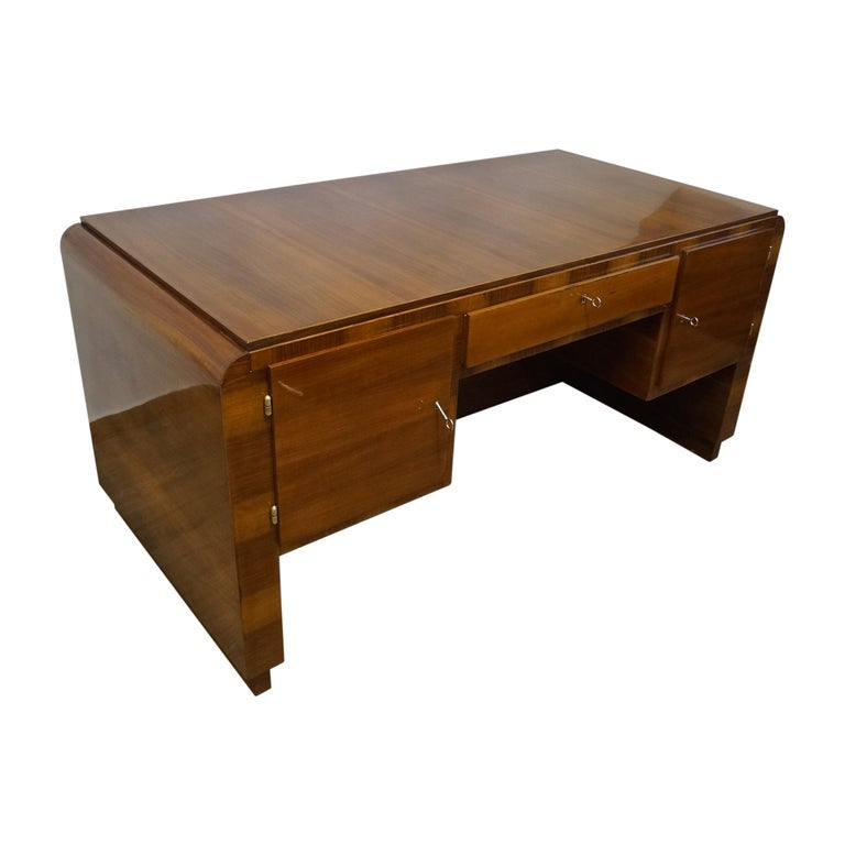 Art Deco Desk from 1940 For Sale