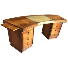 Art Deco Desk in the Style of Jules Leleu, circa 1930
