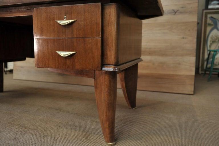 Art Deco Desk by  Sanyas & Popot, France , circa 1930 For Sale 4
