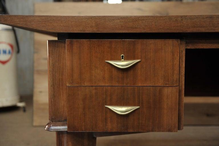 Art Deco Desk by  Sanyas & Popot, France , circa 1930 For Sale 6