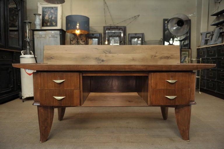 Art Deco Desk by  Sanyas & Popot, France , circa 1930 For Sale 8