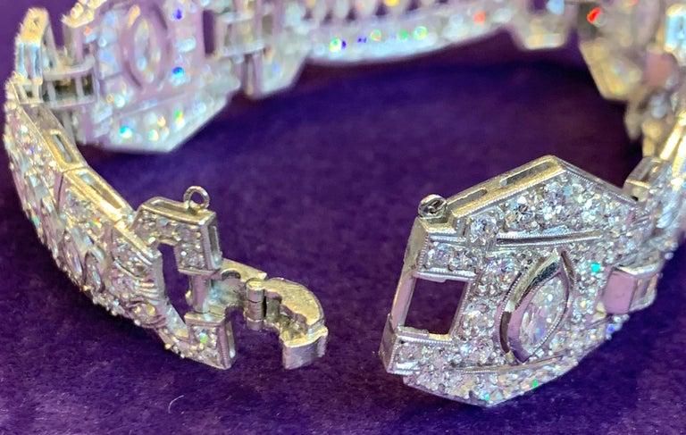 Art Deco Diamond Bracelet For Sale 2