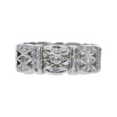 Art Deco Diamond Cuff Band