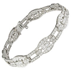 Art Deco Diamond-Set Bracelet
