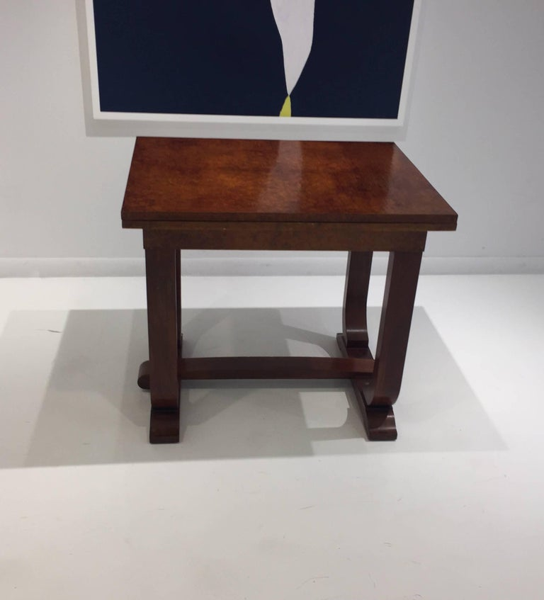 French Art Deco Dining/ Console Table For Sale