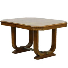 Art Deco Dining Table French circa 1930 Sue et Mare Style Desk or Center Table