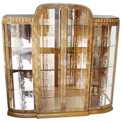 Art Deco Display Cabinet by Hille, circa 1935