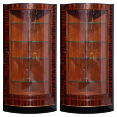 Art Deco Display Cabinets or Vitrines