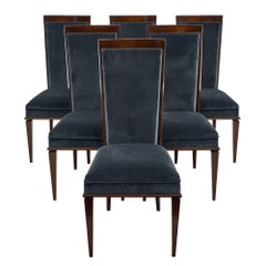 Art Deco Dominique Style French Dining Chairs