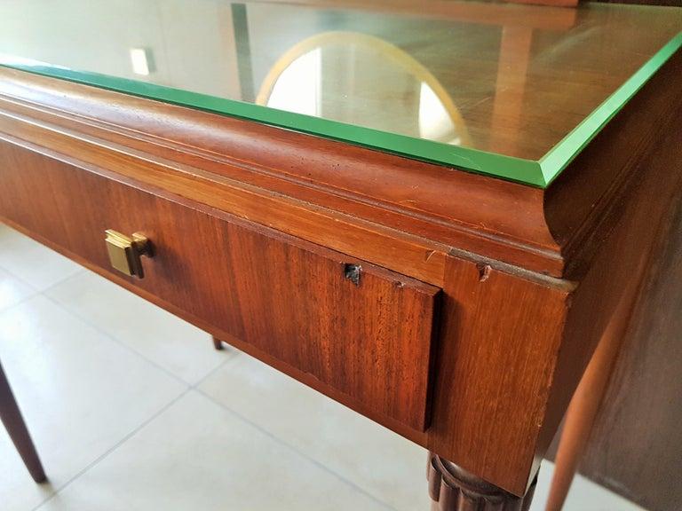 Art Deco Dresser Vanity Desk Signed by Majorelle, France, 1938 For Sale 5