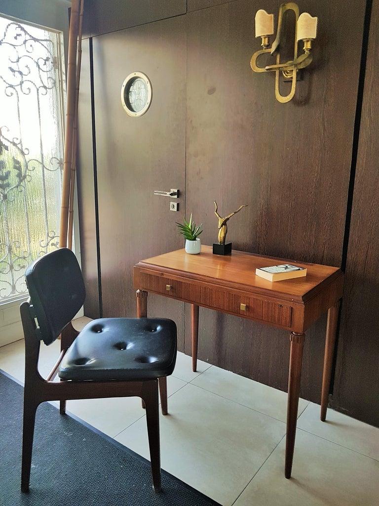 Art Deco Dresser Vanity Desk Signed by Majorelle, France, 1938 For Sale 9