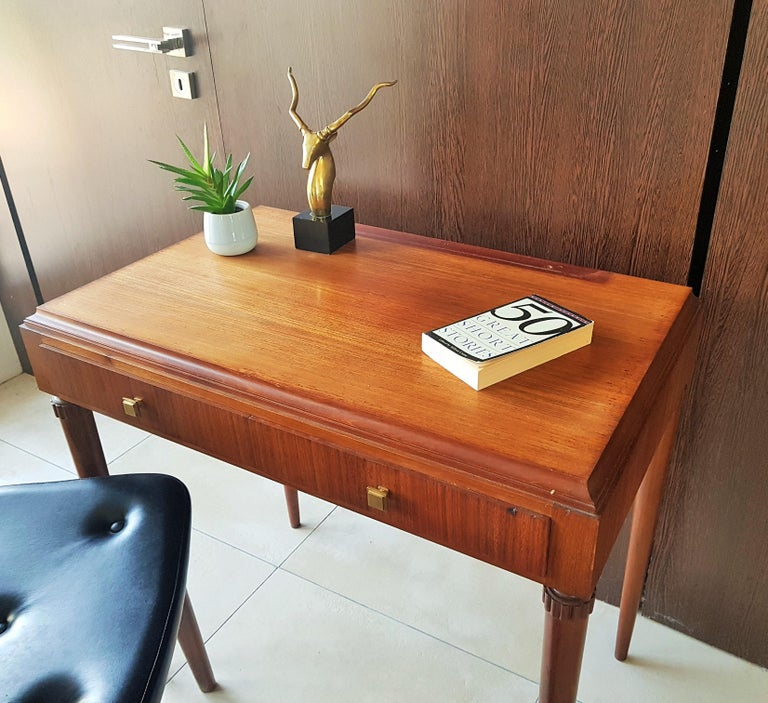Art Deco Dresser Vanity Desk Signed by Majorelle, France, 1938 For Sale 10