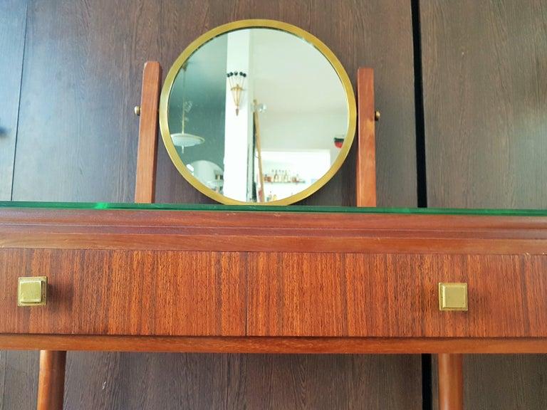 Art Deco Dresser Vanity Desk Signed by Majorelle, France, 1938 For Sale 14