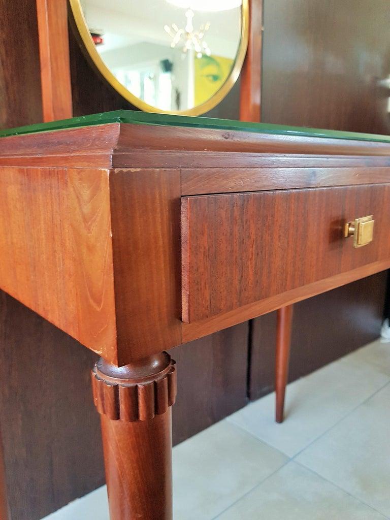 Art Deco Dresser Vanity Desk Signed by Majorelle, France, 1938 In Good Condition For Sale In Saarbruecken, DE