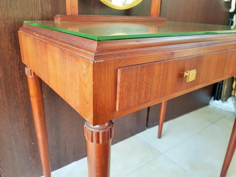 Art Deco Dresser Vanity Desk Signed by Majorelle, France, 1938 For Sale 3