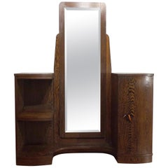 Art Deco Dressing Stand or Vanity in Wenge, circa 1930
