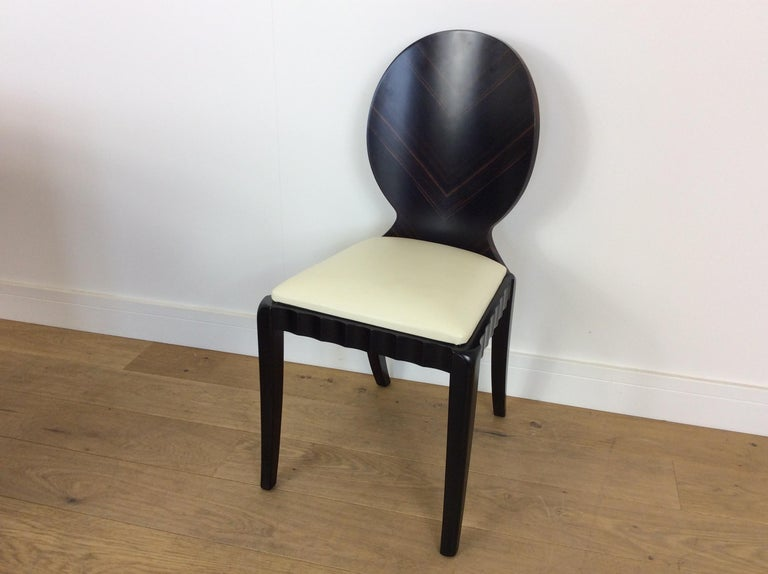 20th Century Art Deco Dressing Table and Chair For Sale