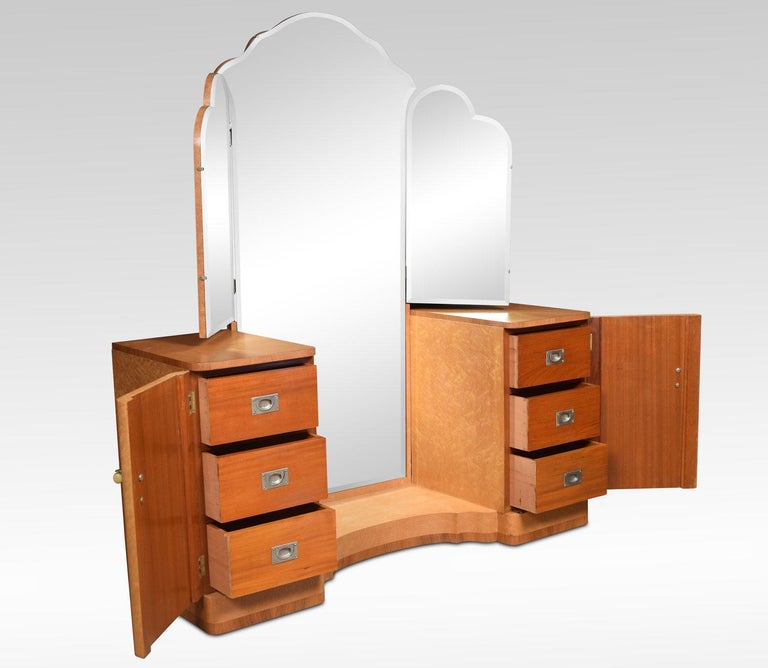 British Art Deco Dressing Table For Sale